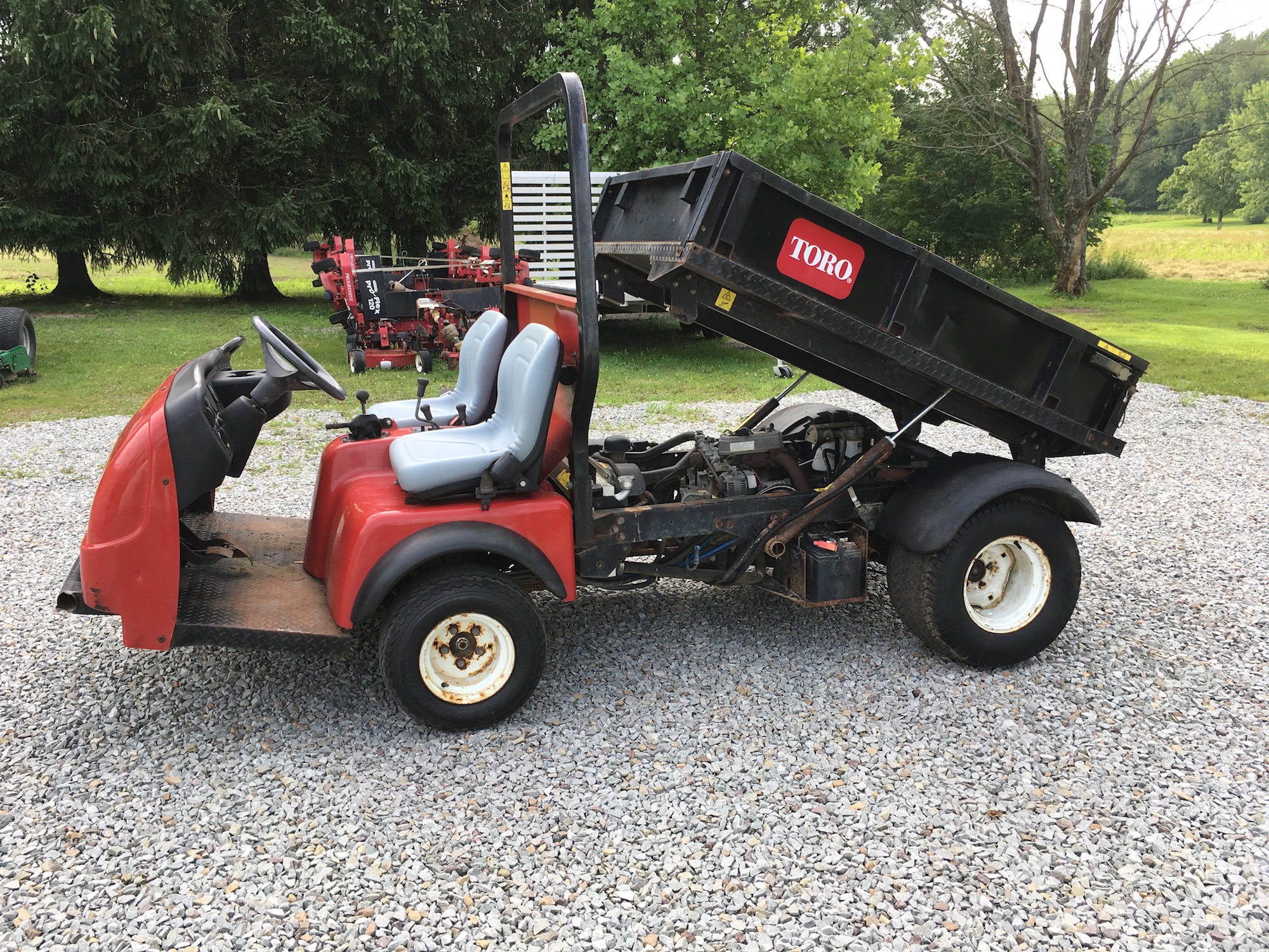 Toro 4300d Awd Workman Sold Laspina Used Equipment